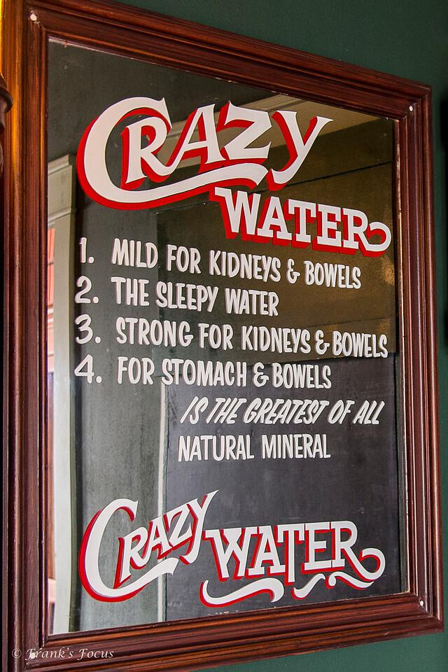 December 27, 2016 -- Crazy Water
