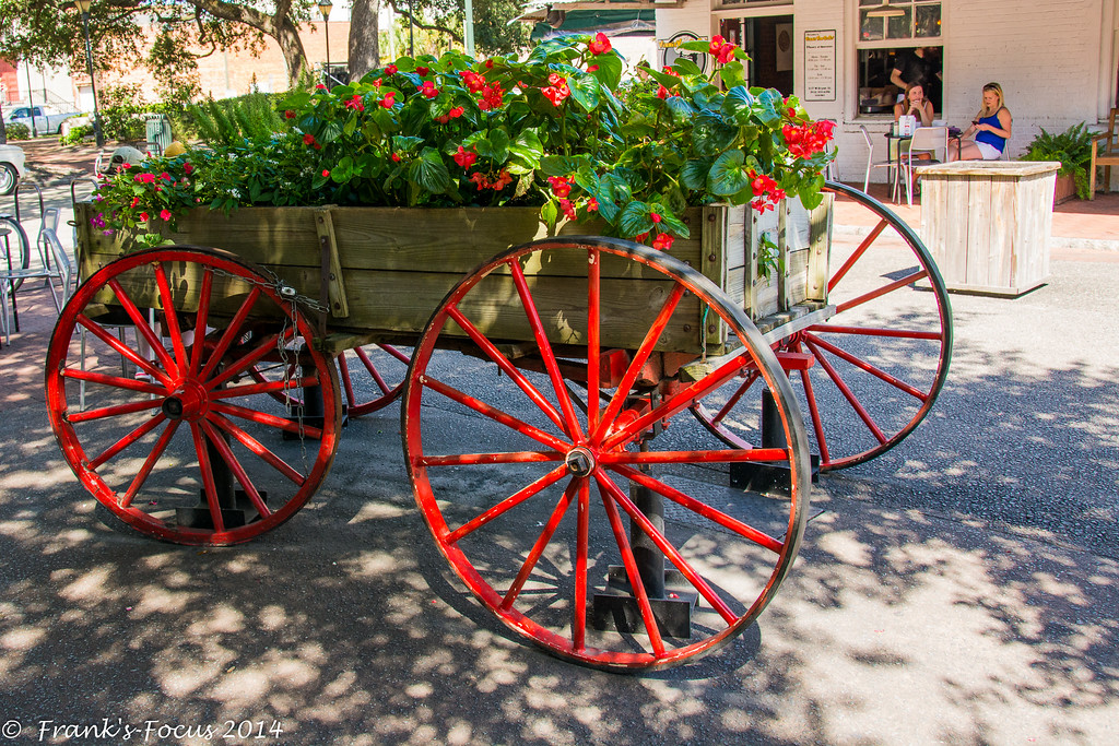 October 1, 2017 -- Flower Cart