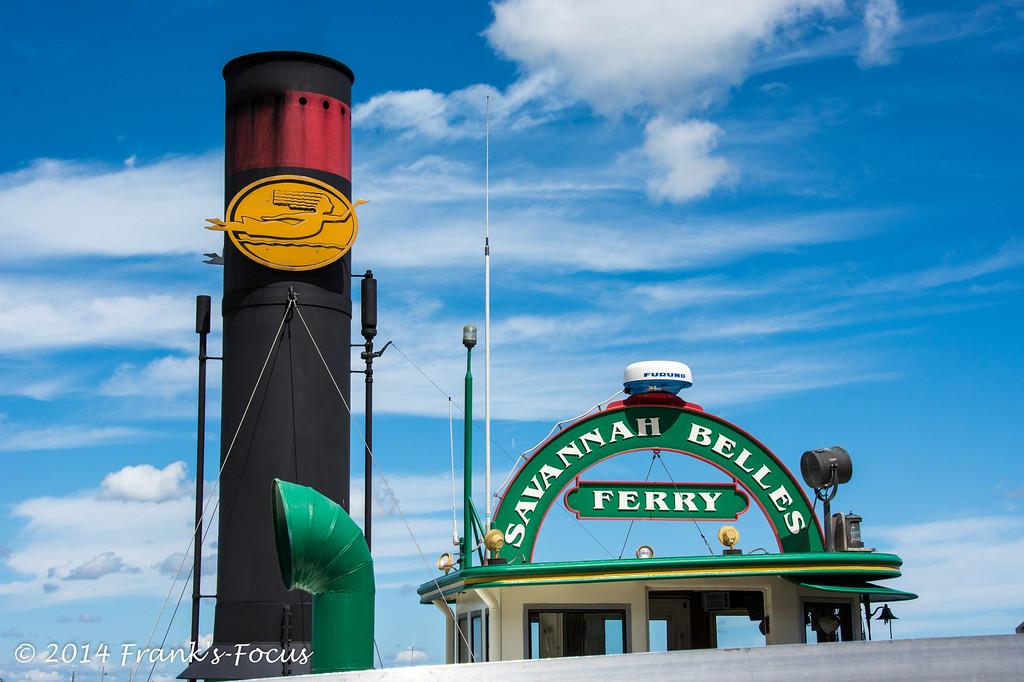 April 19, 2014 -- Savannah Belles Ferry - Savannah, GA