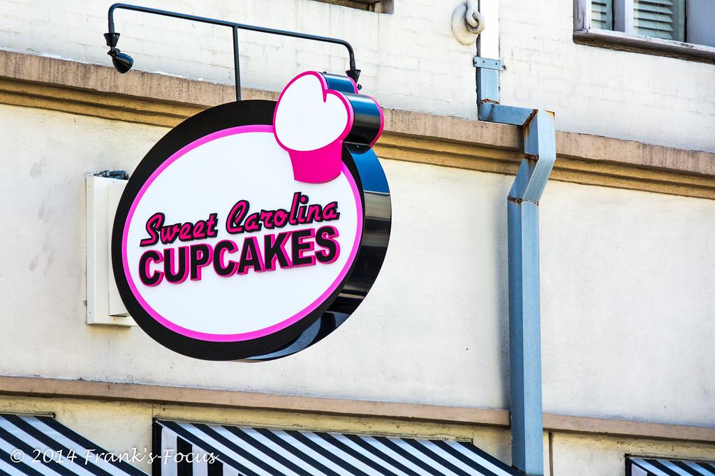 April 21, 2014 -- Sweet Carolina Cupcakes in Savannah, GA