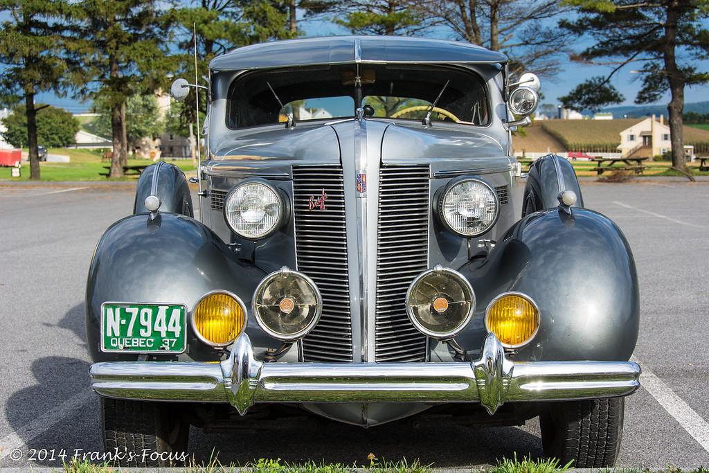Friday, December 12, 2014 -- 1937 Buick - Lighting the Way