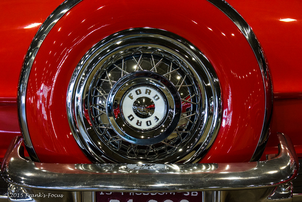 Monday, August 3, 2015 -- Red & Chrome Classic