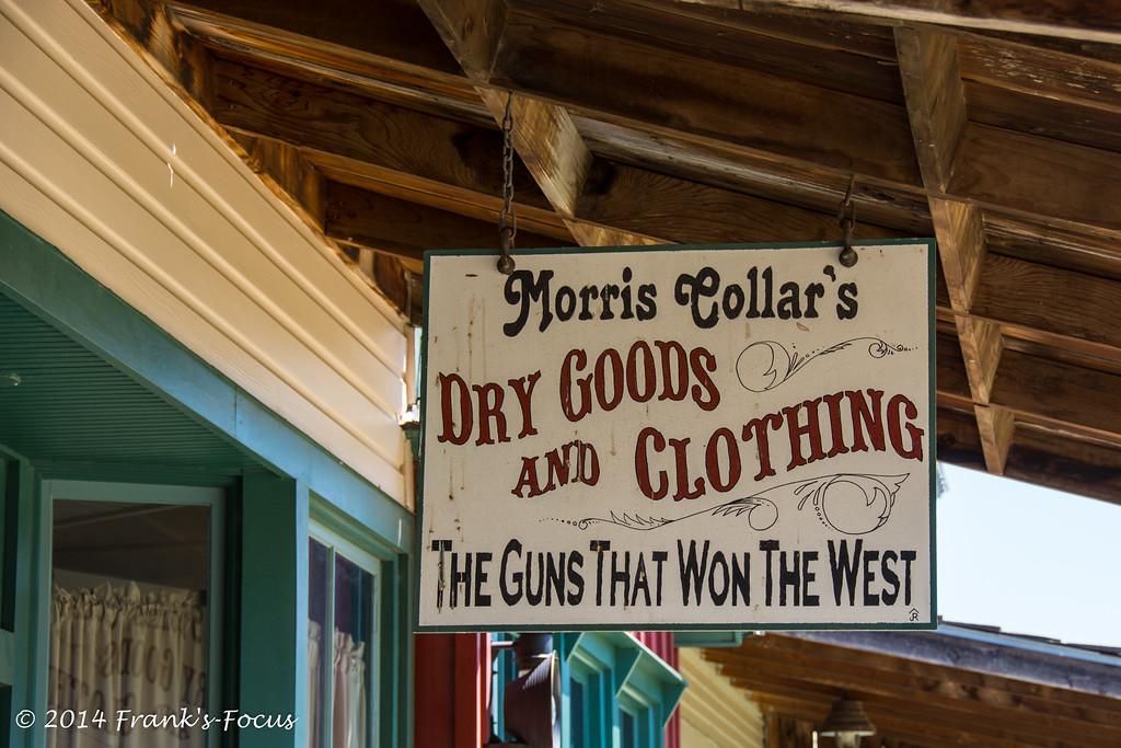 March 24, 2107 -- Dry Goods & Guns