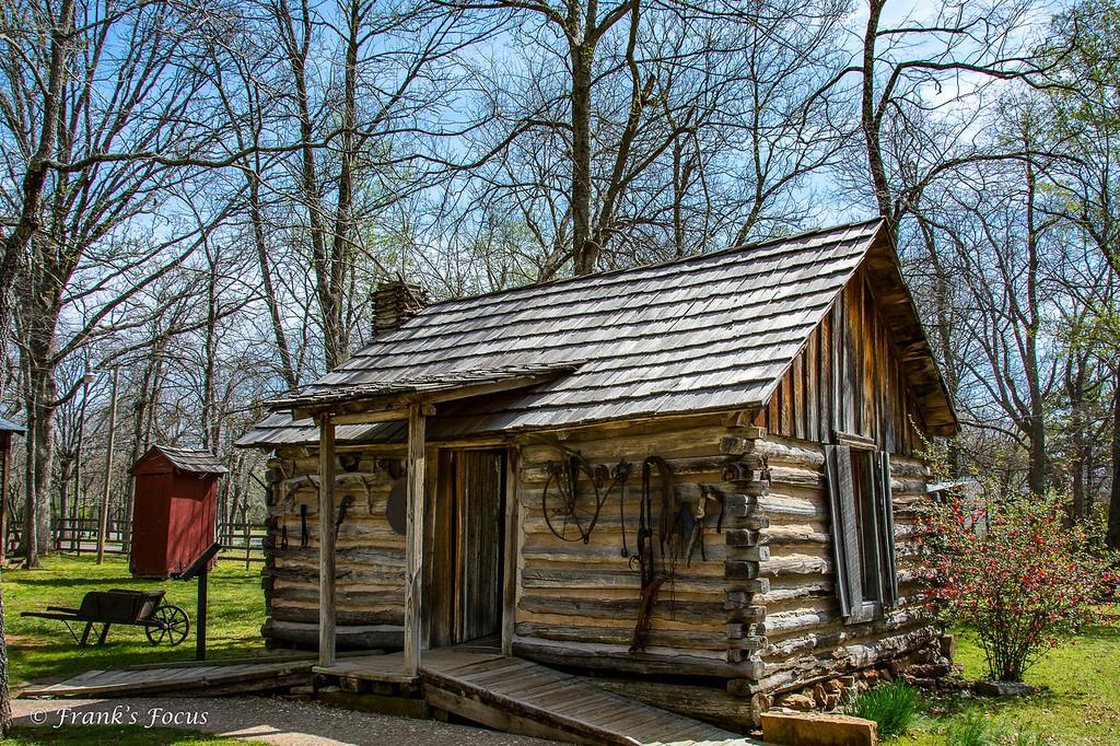 January 27, 2017 -- Cherokee Log Cabin