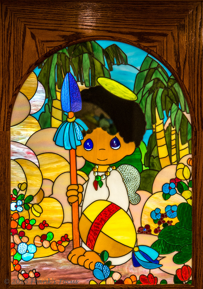 Saturday, July 25, 2015 -- Colorful Stained Glass