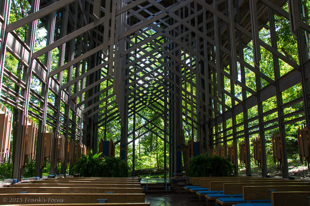 April 7, 2016 -- The Glass Church in the Woods