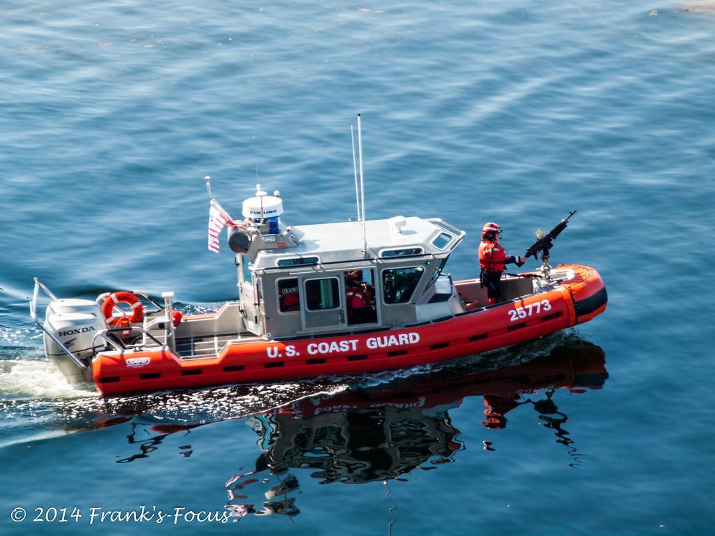February 5, 2017 -- U.S. Coast Guard at work