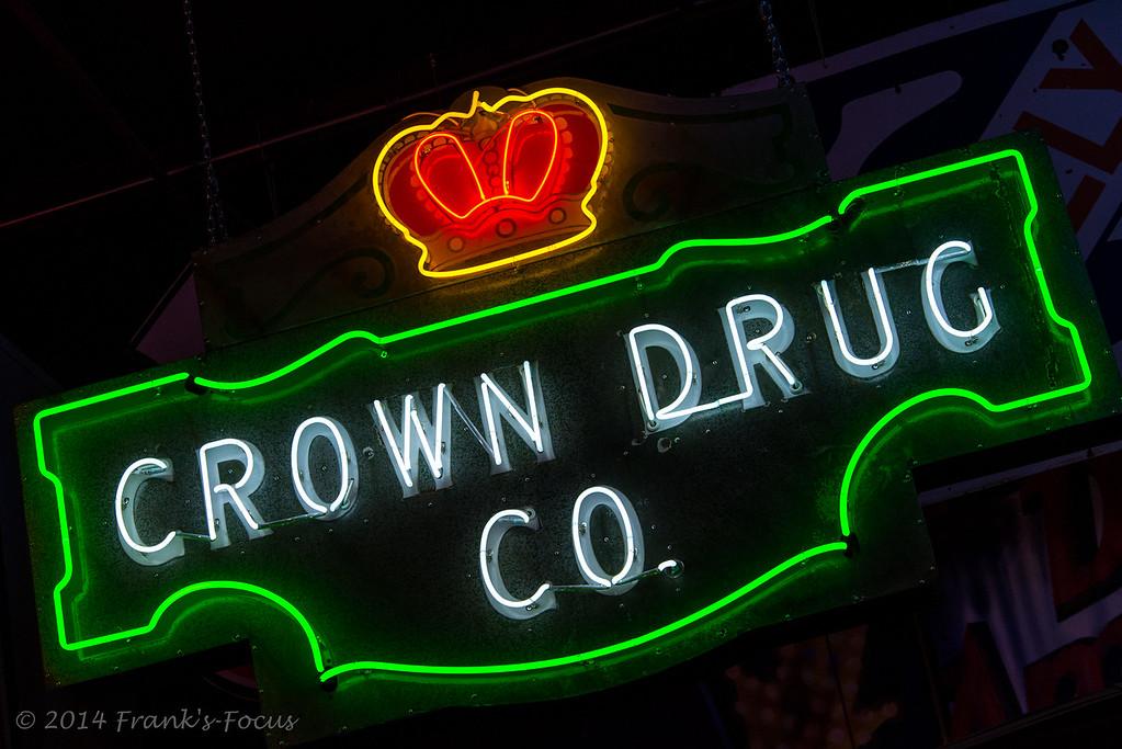 Thursday, January 1, 2015 -- Crown Drug Co.