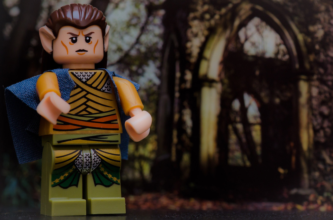 December 29 - Elrond  Placed an Elrond lego character in front of a picture and thats as exciting as todays picture gets!