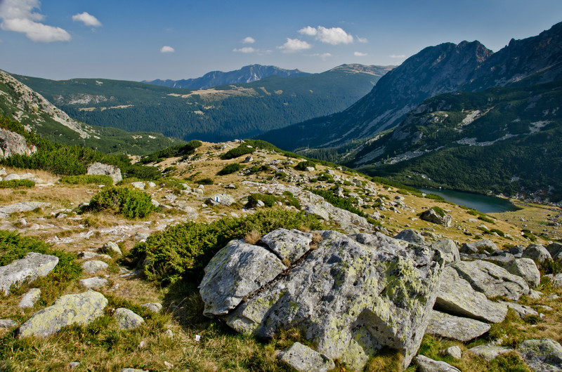 January 25 - Retezat Mountains  I took this during my dailies last year but used a different photo that day instead so dipping into last years photos for todays picture. This was such a stunning place. Took 3 hours of walking to get to this spot.