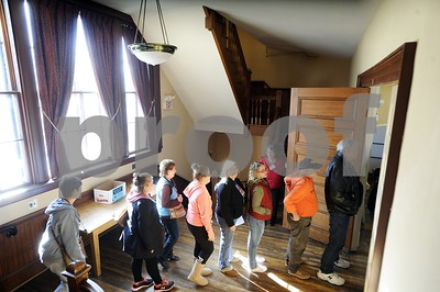 Robert Layman / Staff Photo  Voters wait to enter the West Rutland town hall Tuesday morning.