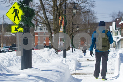 Robert Layman / Staff Photo Downtown Poultney soaks up the Sun Thursday afternoon.