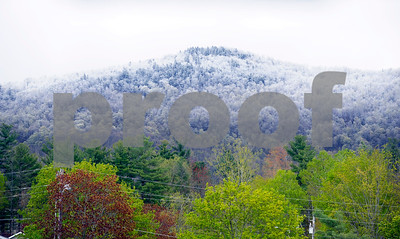 Robert Layman / Staff Photo  Areas in higher elevations in the Rutland Region experienced a frost Monday morning.