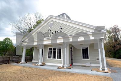 Robert Layman / Staff Photo The new Castleton town office.