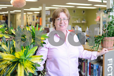 Robert Layman / Staff Photo Abby Nolan, Director of the Rutland Free Library, is stepping down.