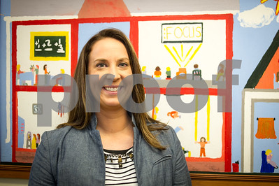 Robert Layman / Staff Photo Kate Bosnich, new director of Rutland City School District's Tapestry & EPIC programs.