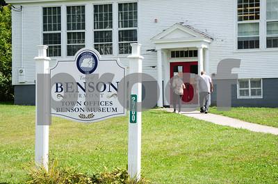 Robert Layman / Staff Photo Town offices in Benson