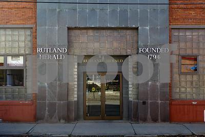 Robert Layman / Staff Photo The former Rutland Herald building.
