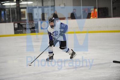 U-32 vs Woodstock girls hockey
