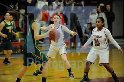 Spaulding vs BFA girls basketball
