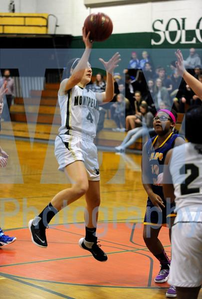 Montpelier vs Lamoille girls basketball