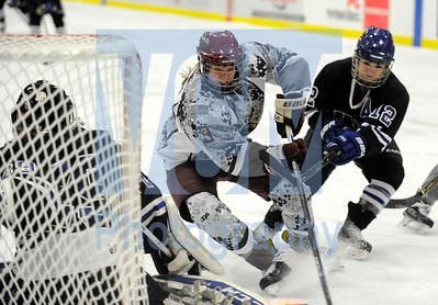 Norwich vs UNE womens hockey