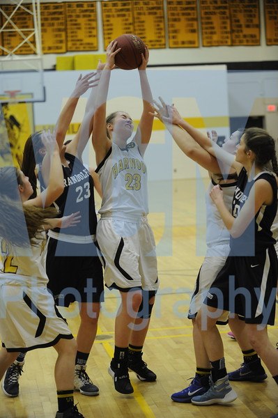 Harwood vs Randolph girls basketball