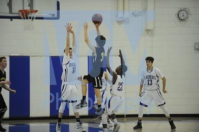 U-32 vs Harwood boys basketball