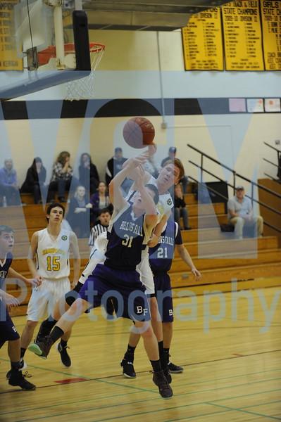 Harwood vs Bellows Falls boys basketball