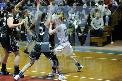 Windsor vs Winooski girls basketball