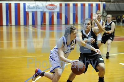 Thetford vs Leland & Gray girls basketball