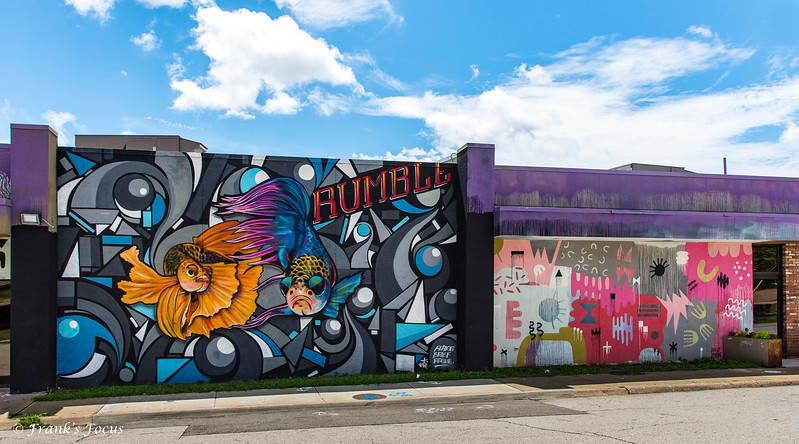 July 25, 2018 -- Wall Art in Tulsa, OK