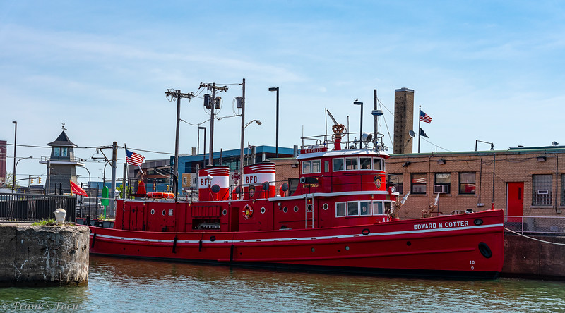 July 14, 2018 -- Edward M Cotter (Fireboat)