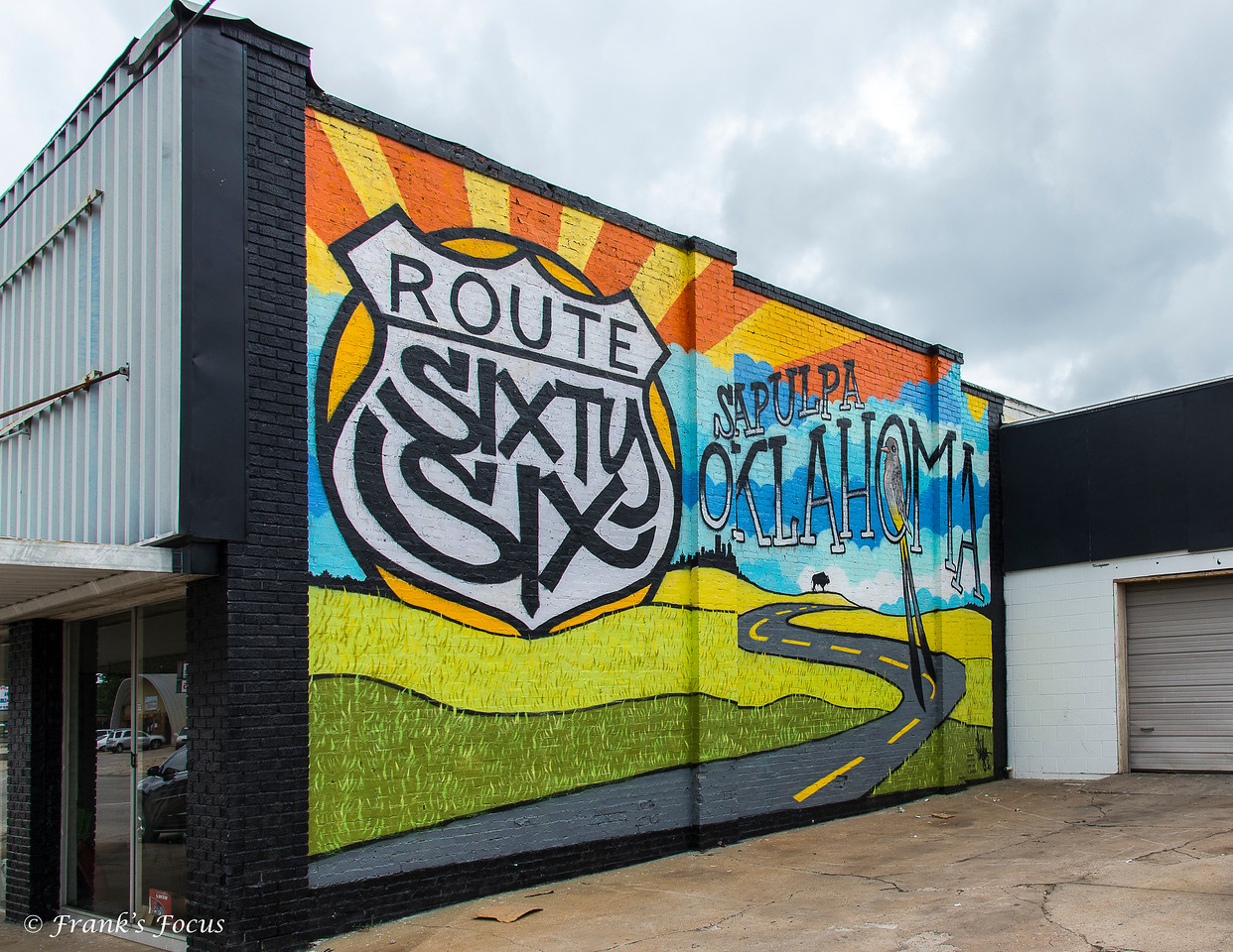 February 8, 2018 -- Route 66 Mural
