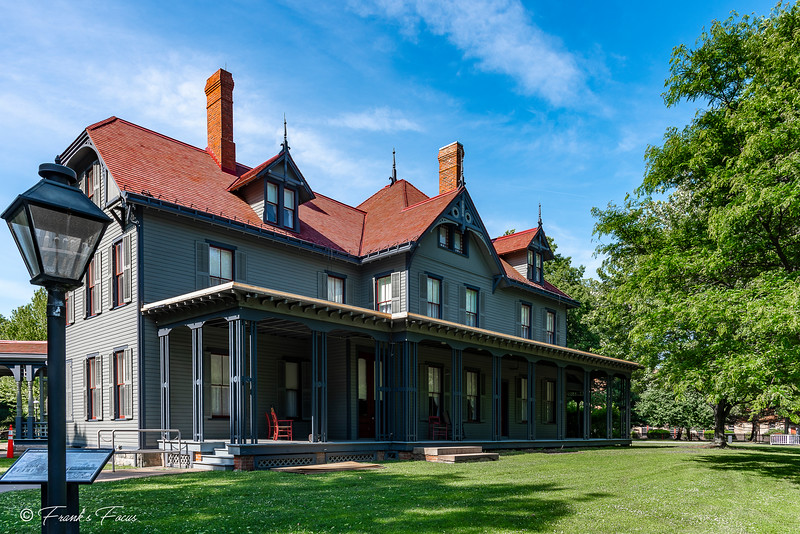 August 14, 2018 -- James A. Garfield Home