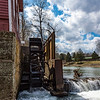 March 25, 2018 -- War Eagle Mill Waterwheel