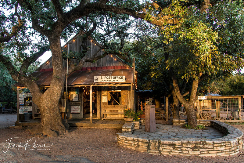 December 4, 2018 -- Sundown in Luckenbach