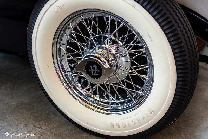"""""""W"""" is for Wire Wheels with Wide White Walls"""