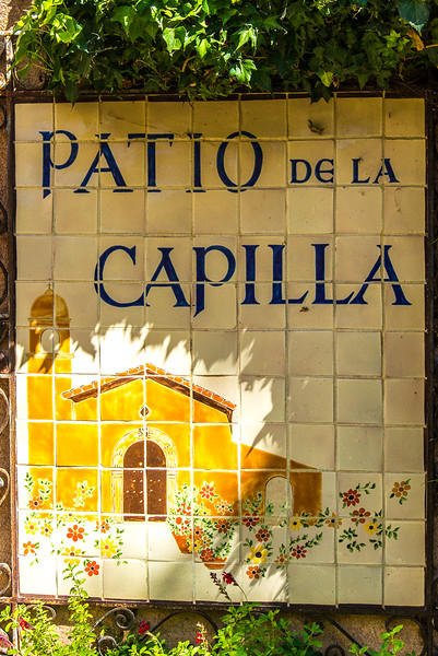 January 11,  2018 -- Patio De La Capilla