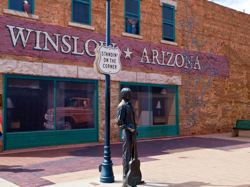 """""""W"""" is for Winslow, Arizona"""