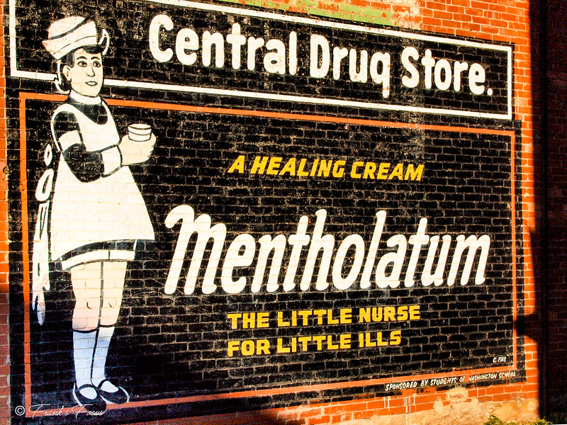 M is for Mentholatum Mural