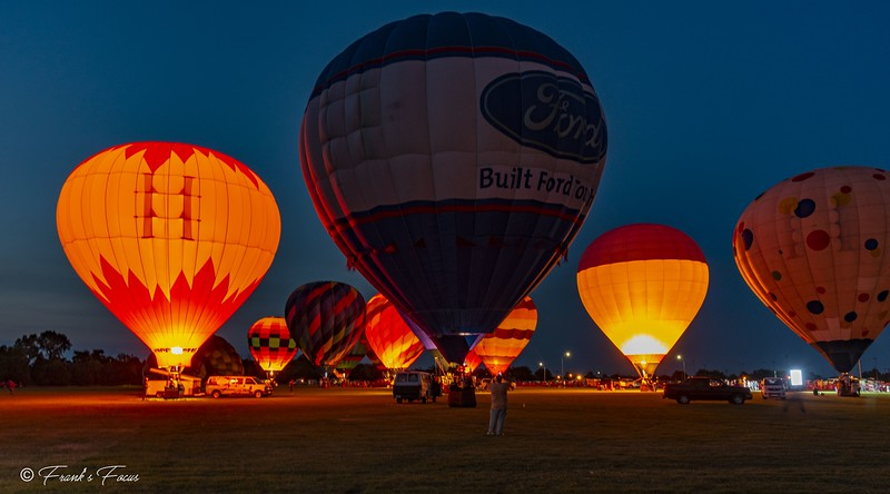 September 1, 2018 -- Hot Air Lights