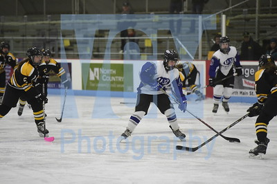 U-32 vs Harwood girls hockey