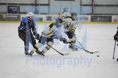 Harwood vs North Country boys hockey