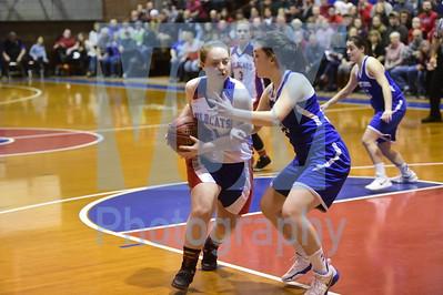 Hazen vs Thetford girls basketball