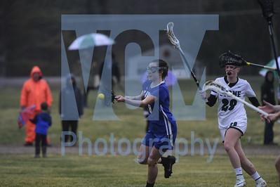 Stowe vs U-32 girls lacrosse
