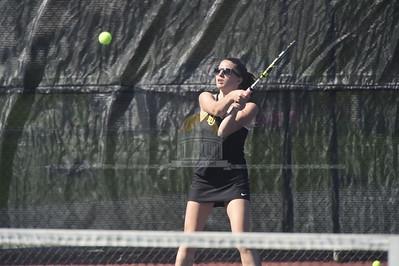 Spaulding vs Harwood girls tennis
