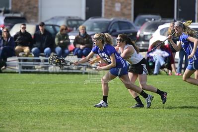 Harwood vs U-32 girls lacrosse
