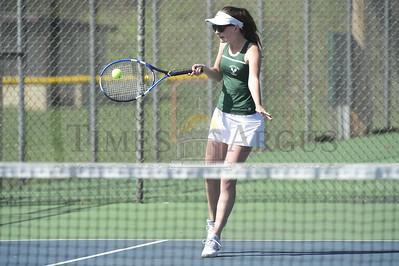 Harwood vs Montpelier girls tennis