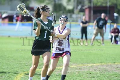 Spaulding vs Rice girls lacrosse